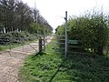 Bridleway and Cycle Track - geograph.org.uk - 159504.jpg