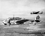 Bristol Beaufort Mk I of No. 42 Squadron RAF, based at Leuchars in Scotland, March 1941. CH2775.jpg