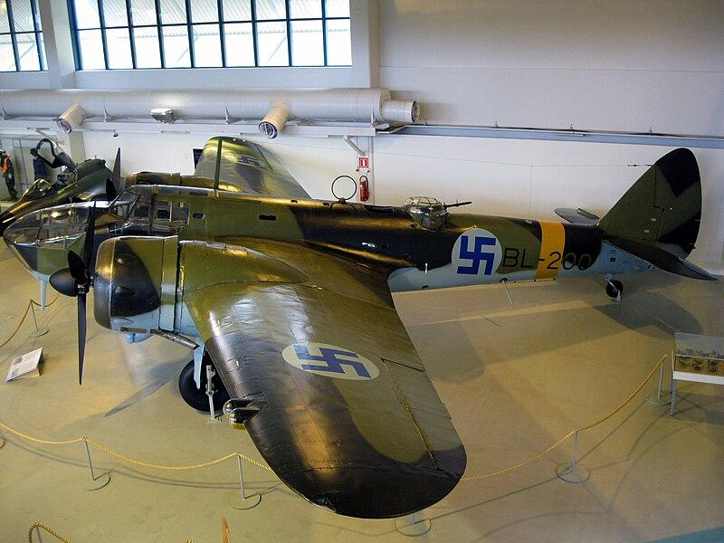 File:Bristol Blenheim Mk IV (BL-200).jpg