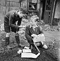Britain's Youth Prepares- Boys Create Allotments on Bomb Sites, London, England, 1942 D8952.jpg