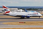 British Airways, G-XLED, Airbus A380-841 (43687780174).jpg