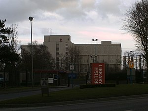 British Library - The British Library at Boston Spa (on Thorp Arch Trading Estate), West Yorkshire