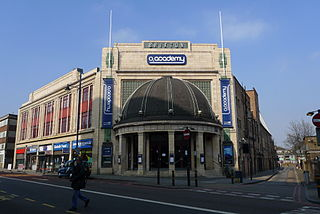 O2 Brixton Academy music venue in London, a former cinema