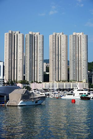 Public housing estates in Pok Fu Lam, Aberdeen and Ap Lei Chau - Broadview Court