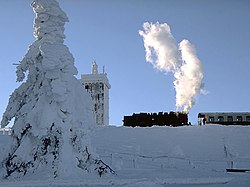 At the Brocken summit, December 2001