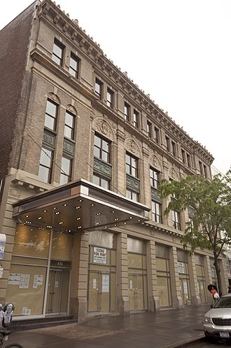 Bronx Opera House - The Opera House Hotel, still under construction at the end of May 2013