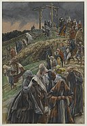 Brooklyn Museum - The Crowd Left Calvary While Beating Their Breasts (La foule quitte le calvaire en se frappant la poitrine) - James Tissot.jpg