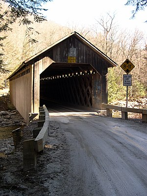 National Register of Historic Places listings in Vermont - Brown Covered Bridge, in Rutland County