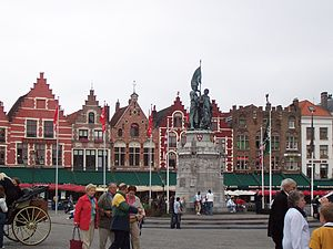 Bruges - The Markt (market square)