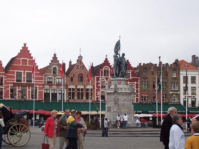 File:Bruges main square.jpg