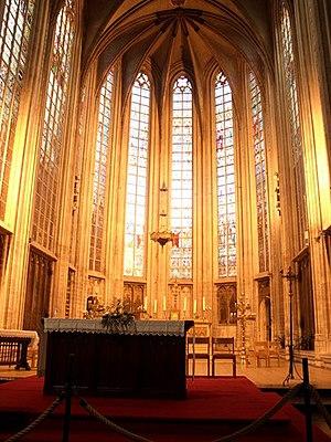 Versus populum - Versus populum altar in Church of Our Blessed Lady of the Sablon, Brussels
