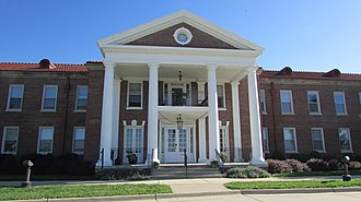 National Register of Historic Places listings in Buchanan County, Missouri - Image: Buchanan County Infirmary