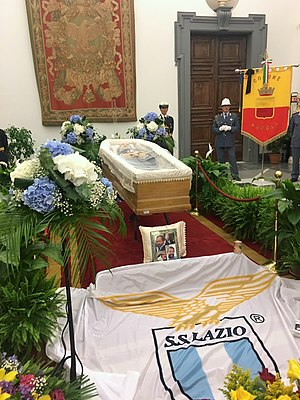 Bud Spencer - Funeral of Spencer in Rome