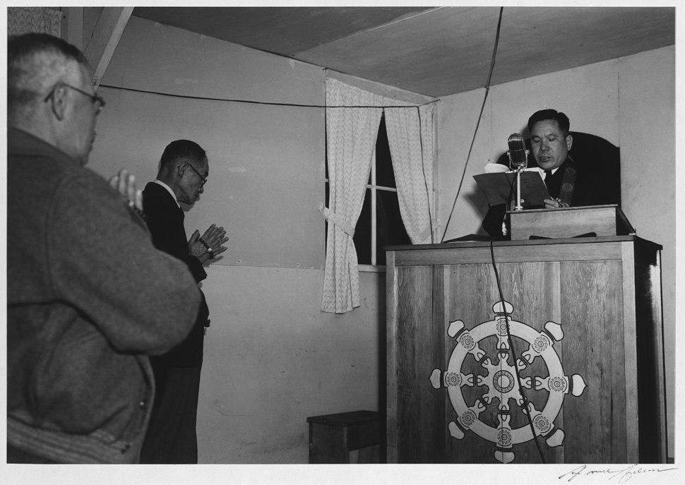 Buddhist service-Adams-1943
