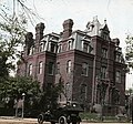 Built in 1881 for Senator James Blaine, the house was one of the first mansions built around Dupont Circle and is only one of two still standing today. In 1901 it became the house of George (3422304716).jpg