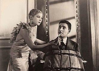 Bulldog Drummond (1929 film) - Lilyan Tashman and Ronald Colman in Bulldog Drummond