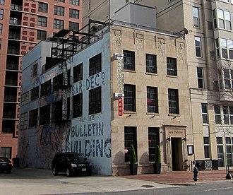 Bulletin Building, Washington, D.C. - Image: Bulletin Building, Washington, D.C. side view