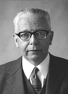 Gustav Heinemann German politician, President of Germany 1969-1974