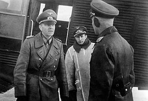 Friedrich Paulus - Paulus in Southern Russia, January 1942.