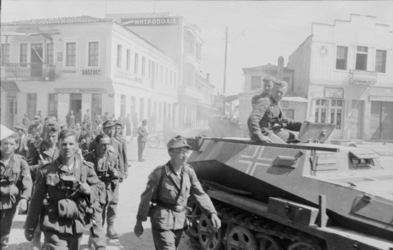 Bundesarchiv Bild 101I-164-0357-29A, Athen, Einmarsch deutscher Truppen