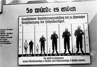 Nazi eugenics Nazi Germanys racially based social policies that placed the improvement of the Aryan race or Germanic