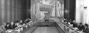 State Council of East Germany - Session of the State Council, 25 June 1981.