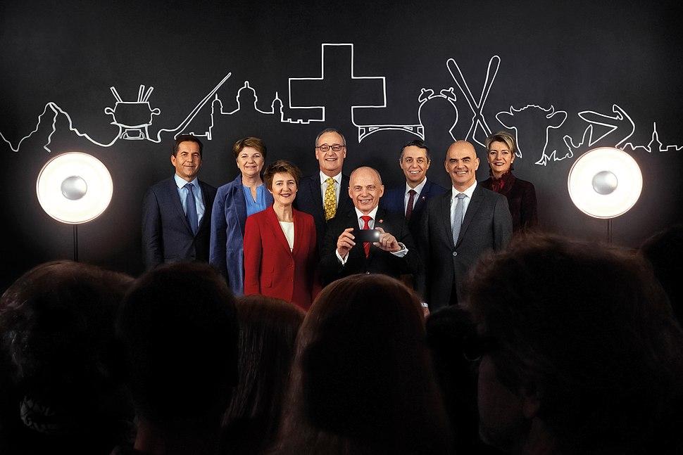 Bundesratsfoto 2019