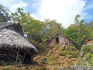 Bunlap Village in Penama Province, Vanuatu