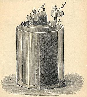Electrochemical cell - The Bunsen cell, invented by Robert Bunsen.