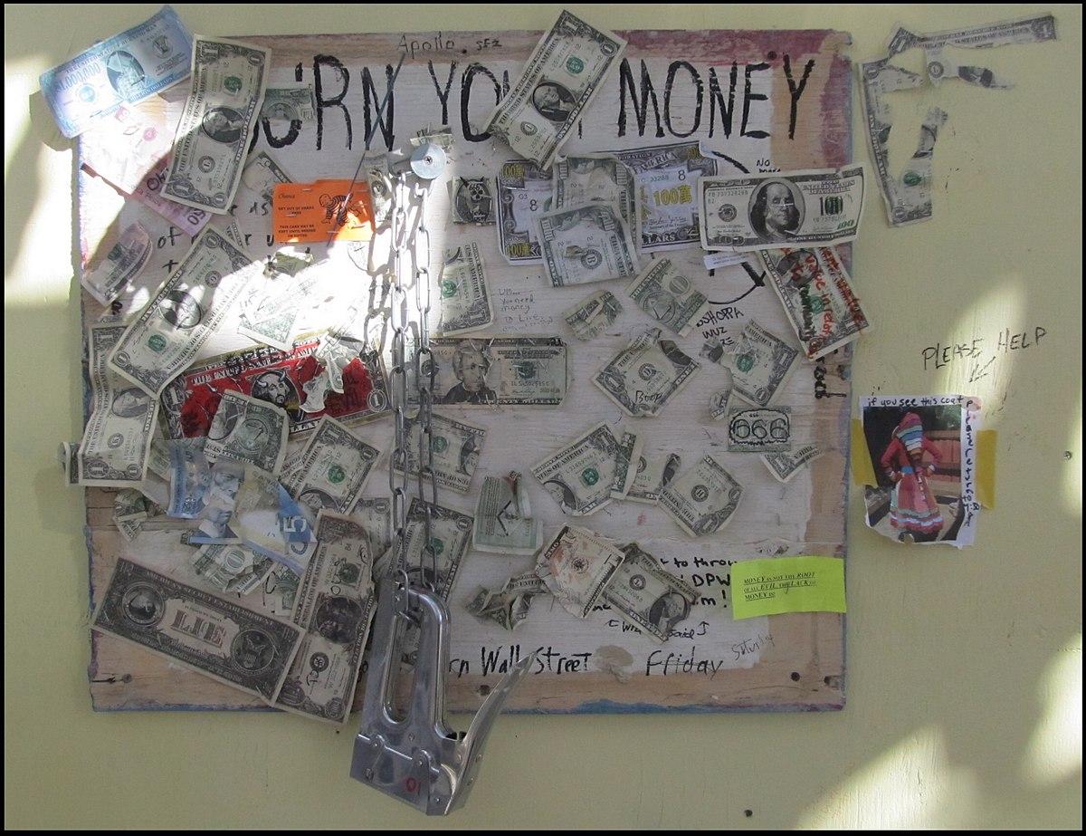 Money burning - Wikipedia