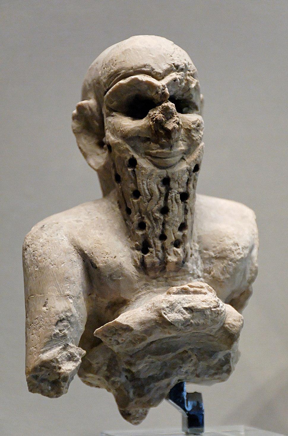 Bust orant Louvre AO17557