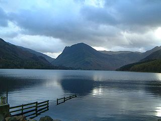 Buttermere lake in the United Kingdom