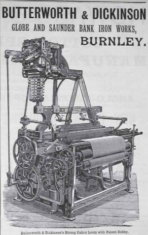 Butterworth & Dickinson - Calico loom