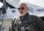 Buzz Aldrin poses for a photo before his flight with the United States Air Force Thunderbirds.jpg