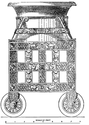 Bronze laver (Temple) - Reconstruction of a Brazen Laver, based on parallels in other nearby cultures