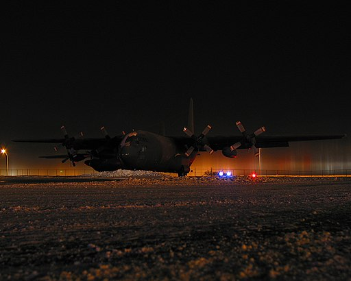 C130's parked in Edmonton (104965483)