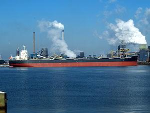 CENTENNIAL HARMONY - IMO 9590838 in IJmuiden at Port of Amsterdam.JPG