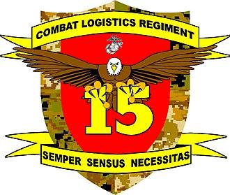 Logistics combat element - Image: CLR 15 insignia