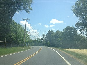 County Route 579 (New Jersey) - CR 579 southbound at milepost 19