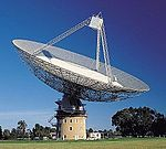 CSIRO ScienceImage 8220 The Radio Telescope at Parkes