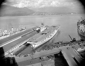 HMS Warrior (R31) - HMCS Warrior in Vancouver, British Columbia
