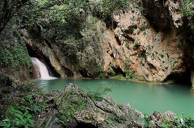 Topes de Collantes je rájem v pohoří Sierra