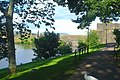 Caerphilly Castle, from Castle Grounds.jpg