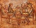 Café-interieur met kaartende figuren van Henri Minderop.jpg