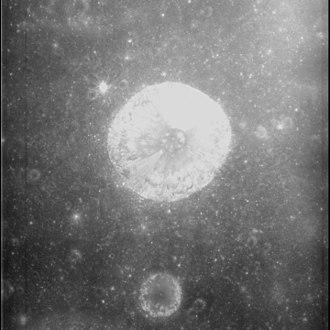 Cajal (crater) - Apollo 15 panoramic camera image