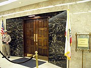 The Governor's office in the California State Capitol