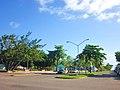 Calle 16 de septiembre y parque de los Caimanes, Chetumal, Q. Roo. - panoramio.jpg