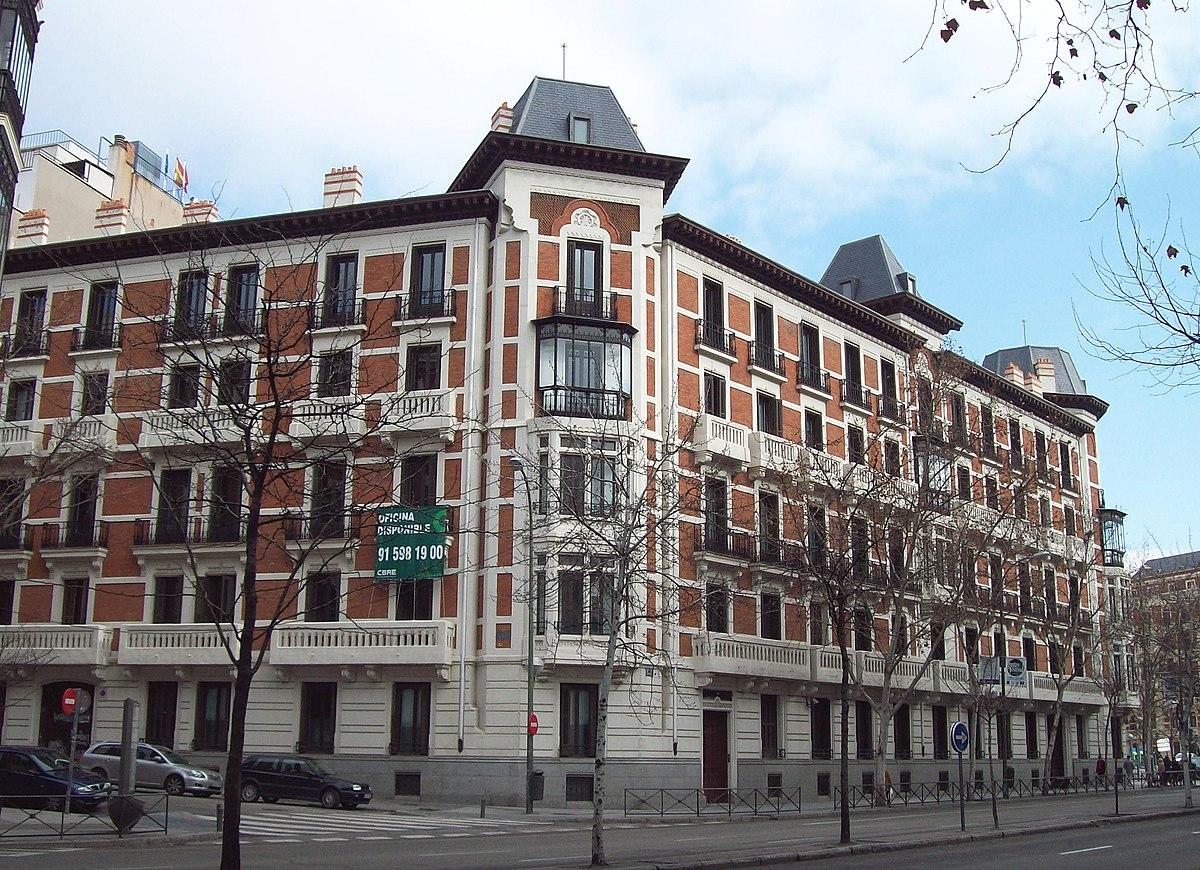 Calle de sagasta wikipedia la enciclopedia libre - Montadores de pladur en madrid ...
