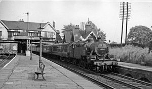 Leeds and Bradford Railway - Image: Calverley & Rodley Station geograph 2197387