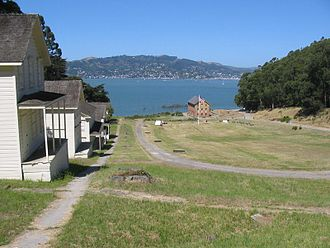 California Historical Landmarks in Marin County - Image: Camp reynolds ai